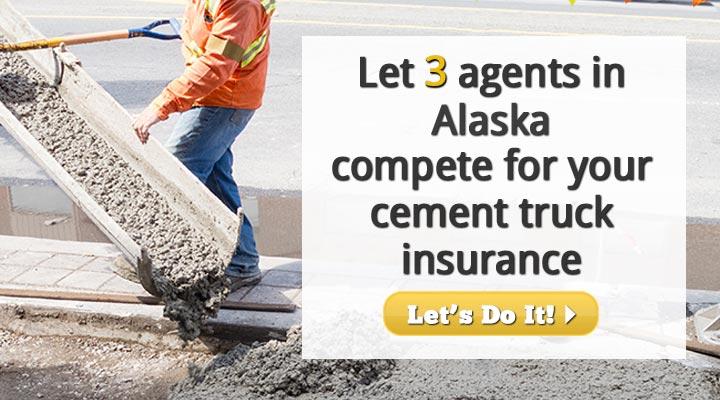 Alaska Cement Truck Insurance Quotes