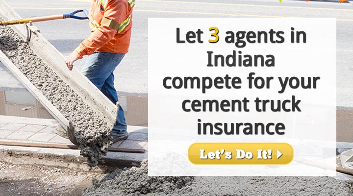 Indiana Cement Truck Insurance Quotes