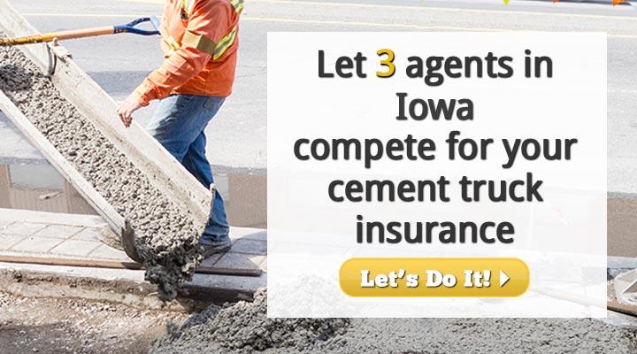 Iowa Cement Truck Insurance Quotes
