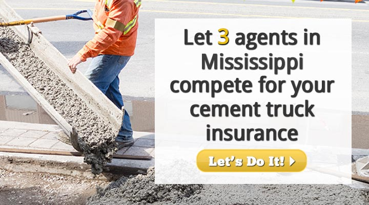 Mississippi Cement Truck Insurance Quotes