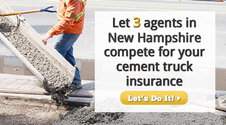 New Hampshire Cement Truck Insurance Quotes