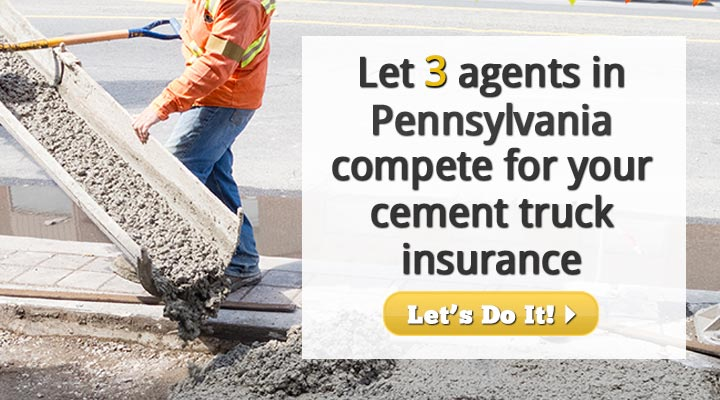 Pennsylvania Cement Truck Insurance Quotes