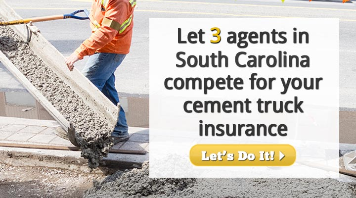 South Carolina Cement Truck Insurance Quotes